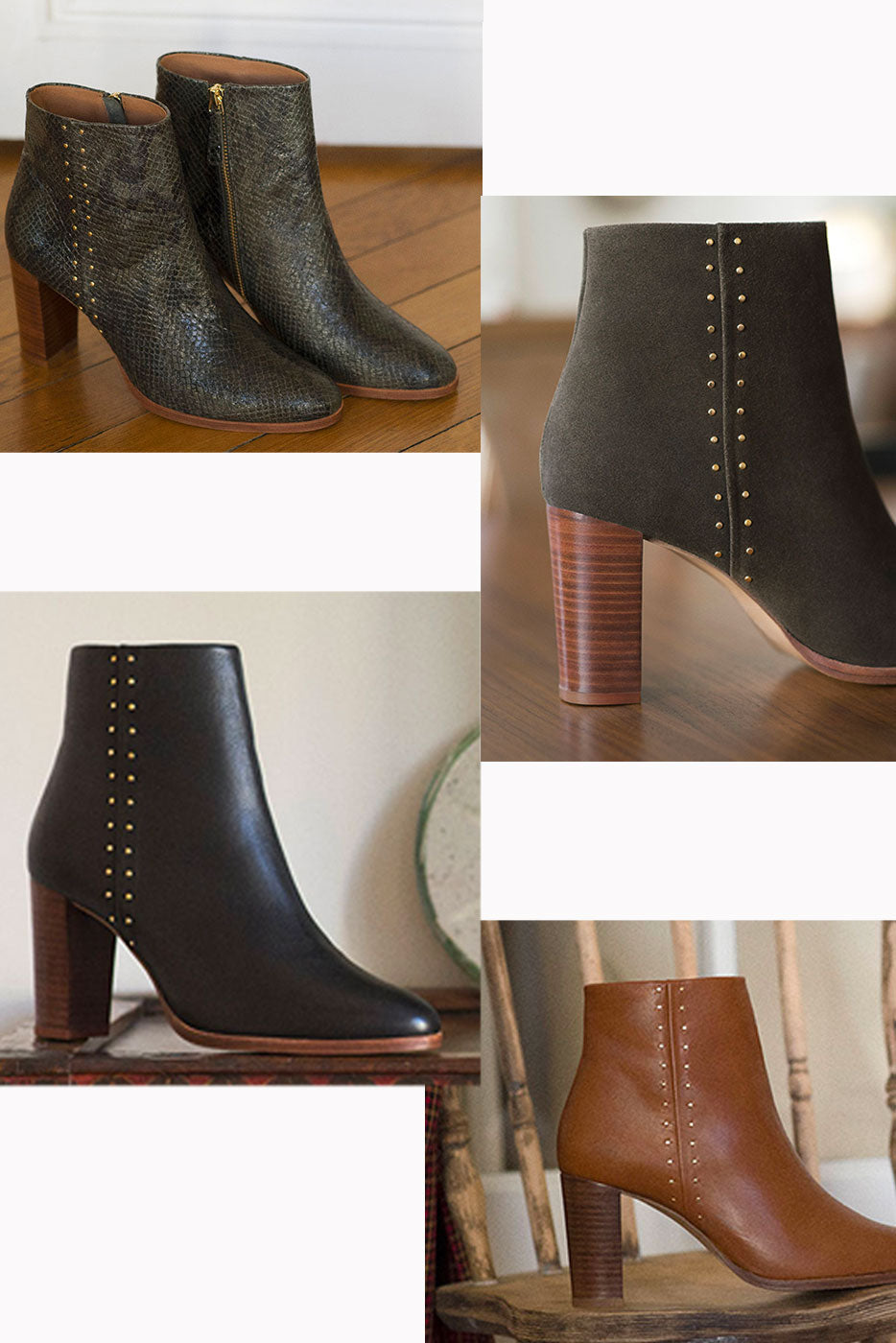 Bottines Léontine cuir
