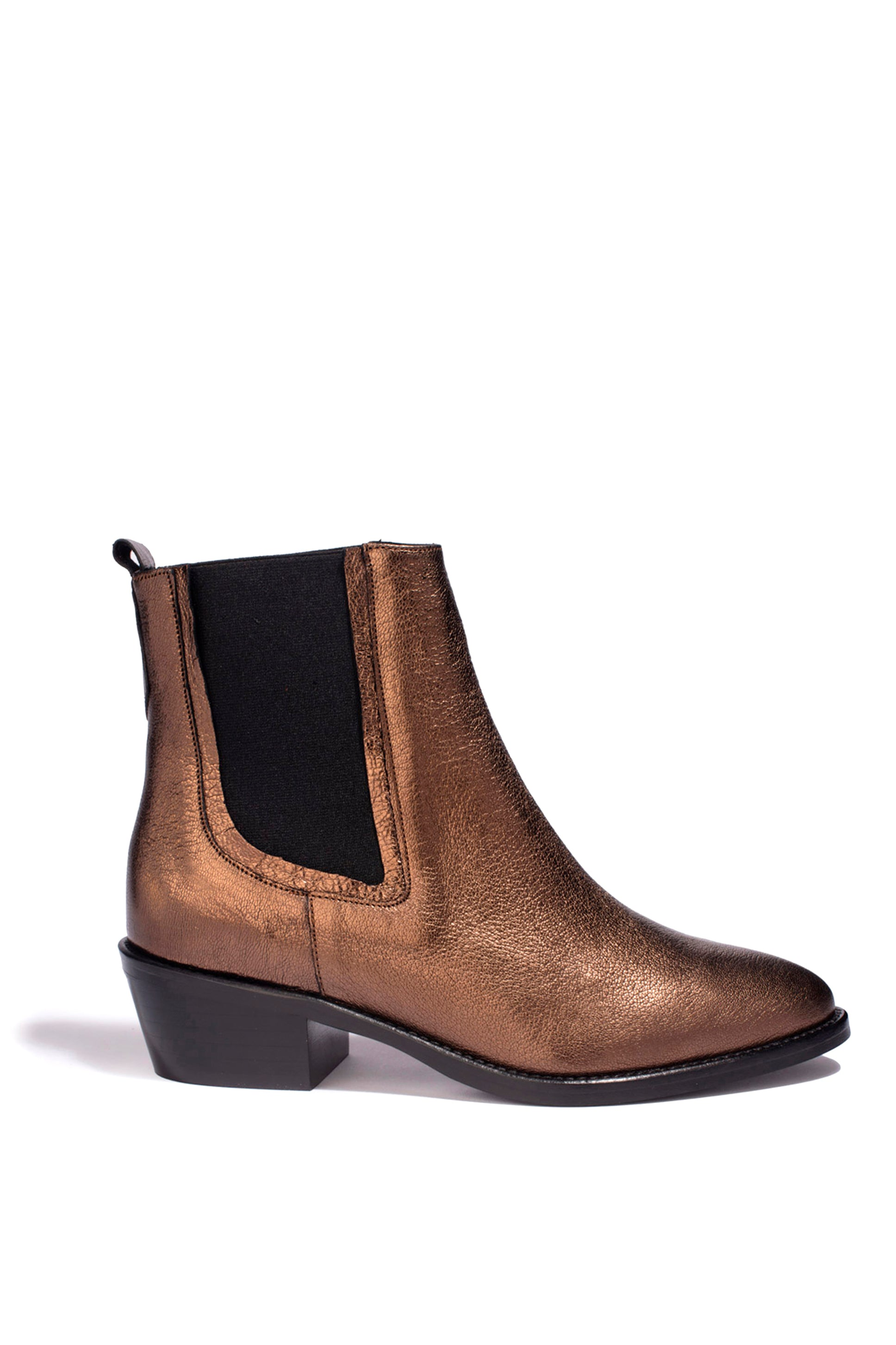 Bottines Clara Metal Stone - Anaki Paris