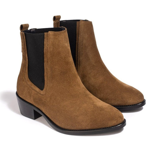Bottines Clara Marron - Anaki Paris