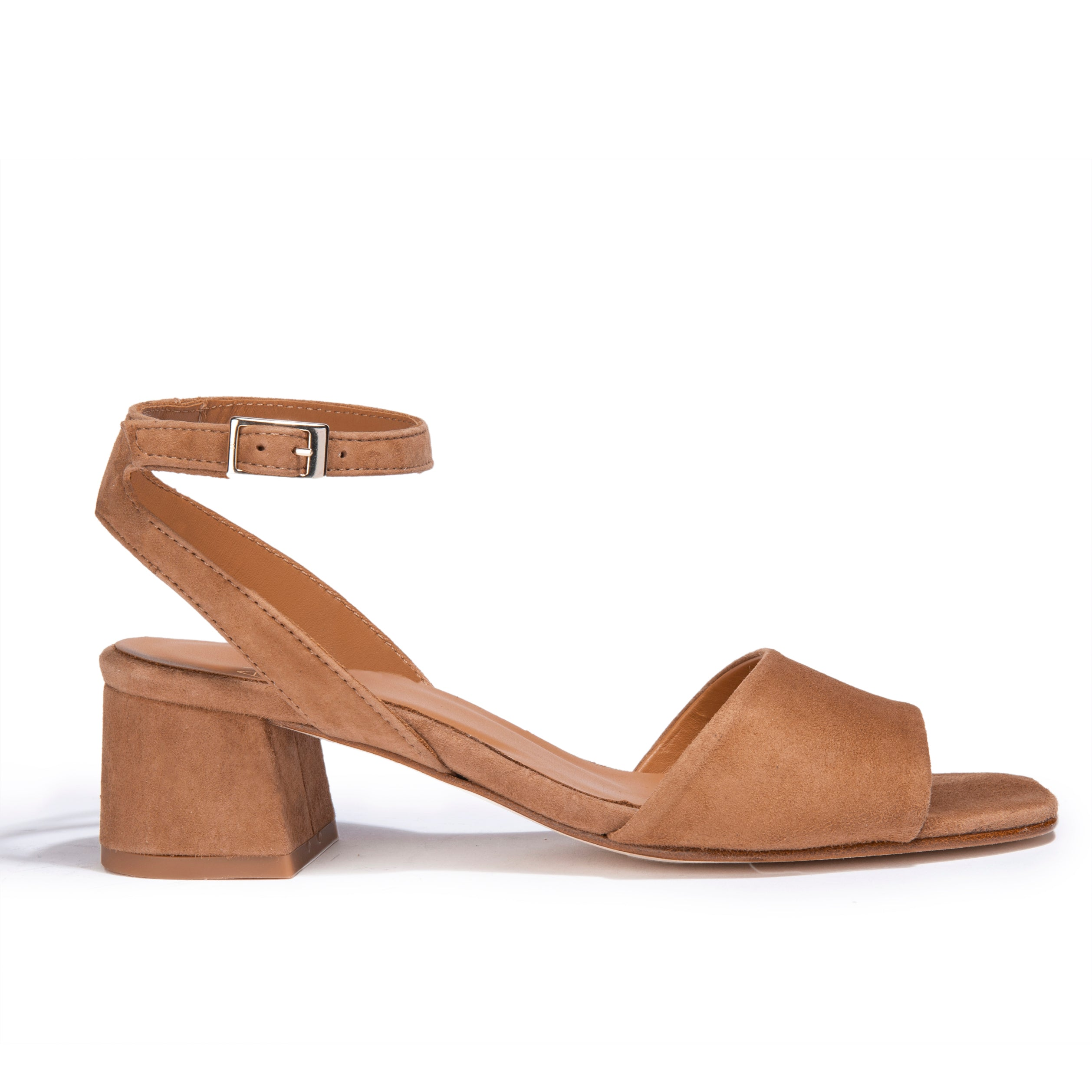 Sandales Giulia Daim Saddle - Anaki Paris