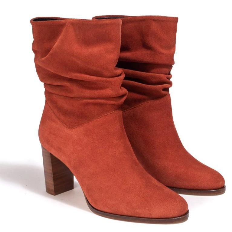 Bottines Sixtine Rouille - Anaki Paris