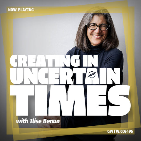 """Ilise Benun on the """"Getting Work to Work"""" podcast"""
