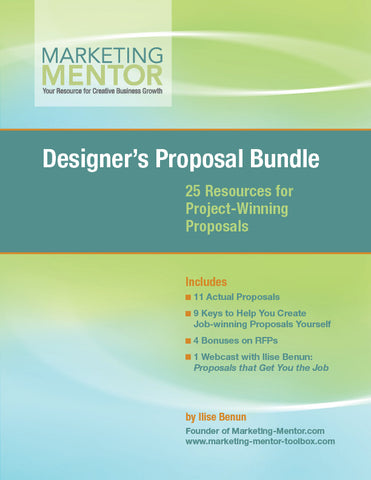 Designer's Proposal Bundle (Vol. 1)