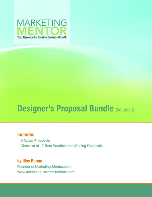 Designer's Proposal Bundle (Vol. 2)