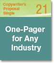 Copywriter's Proposal Single 21
