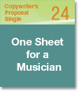 Copywriter's Proposal Single 24