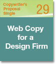 Copywriter's Proposal Single 29