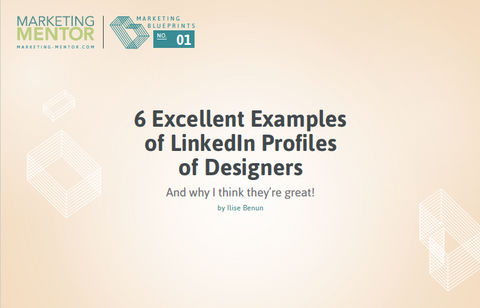 Excellent Examples #1 -- LinkedIn Profiles of Designers