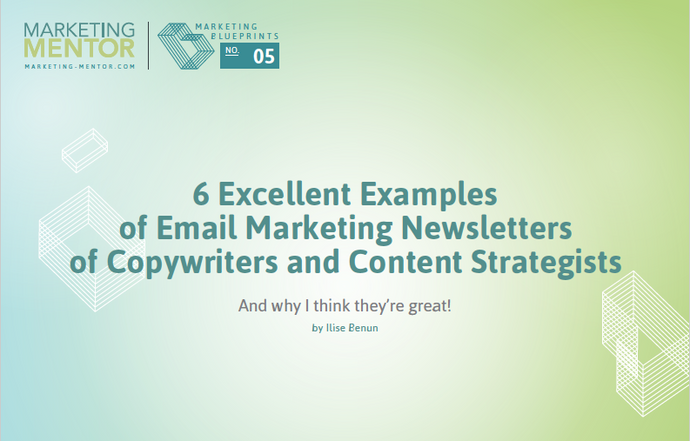 Excellent Examples #5 -- Email Newsletters of Copywriters and Content Strategists