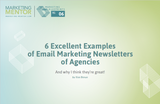 Excellent Examples #6 -- Email Newsletters of Agencies