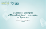 Excellent Examples #9 -- Marketing-Smart Homepages of Agencies