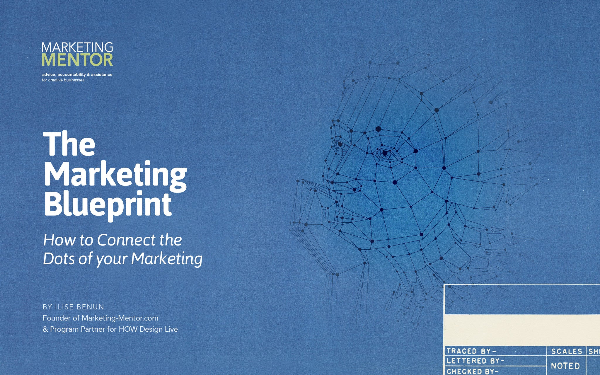 The marketing blueprint how to connect the dots of your marketing malvernweather Image collections