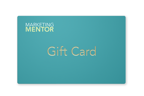 $500 Marketing Mentor Gift Card