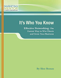 It's Who You Know - The Ultimate Networking Kit