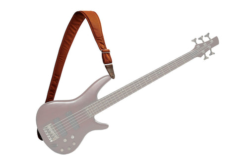 ESO Strap - Burnt Orange - Right & Left Handed Bass Strap
