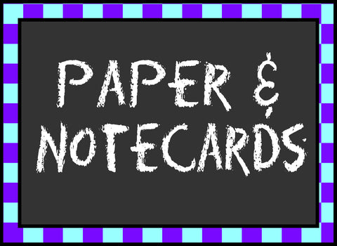 Paper & Notecards