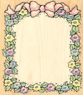 1084L Ribboned Posy Frame