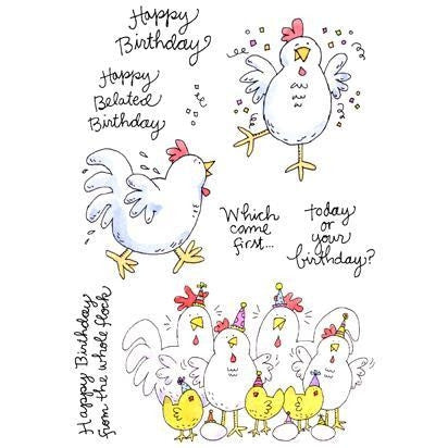 11291MC Birthday Chicks
