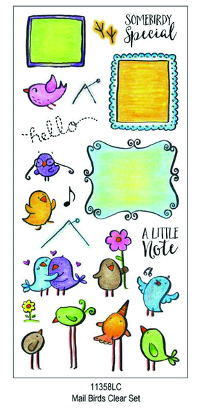 11358LC ~ Mail Birds
