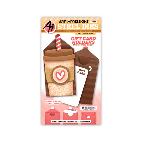 5343 Java Gift Card Holder Set