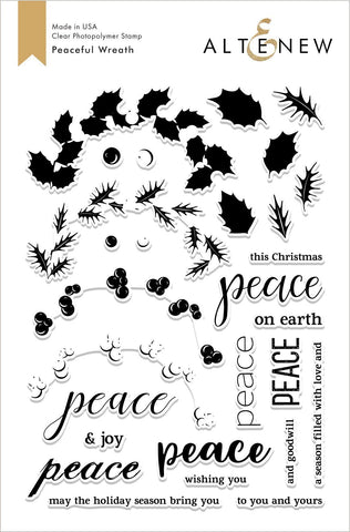 ALT2689 ~ Peaceful Wreath