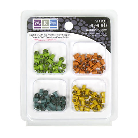70080-7 Small Eyelets - Bubble Brights