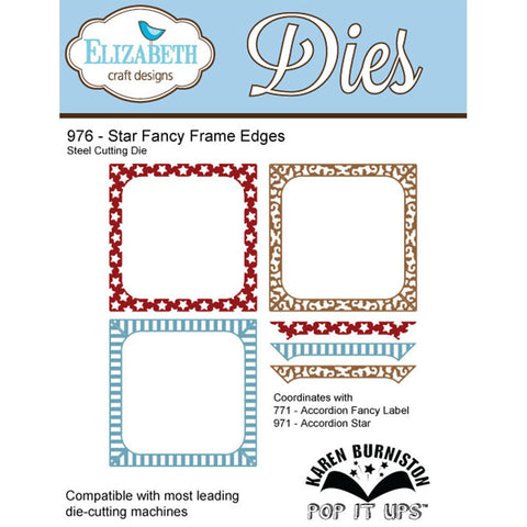 ELS-976 ~ Star Fancy Frame Edges