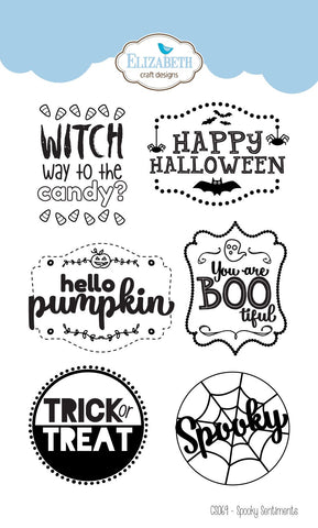 CS069 ~ Spooky Sentiments