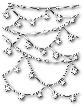 98972 ~ Star Garlands