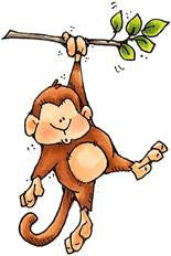 CY956 Pull-Up Monkey