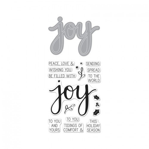 DC169 Stamp & Cuts ~ Joy
