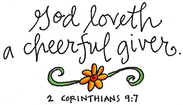 DS506 A Cheerful Giver