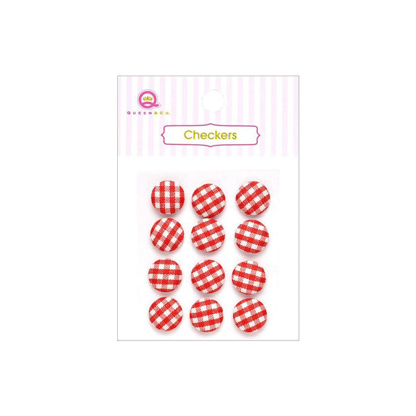 Checkers Fabric Accents ~ Assorted Colours