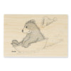 HGRP07 House Mouse Gruffies ~ Sledding Santa