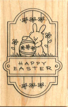 M210 Easter Plaque