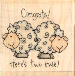 NY821 Here's Two Ewe