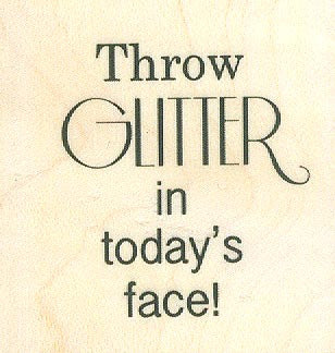 OR891 Throw Glitter