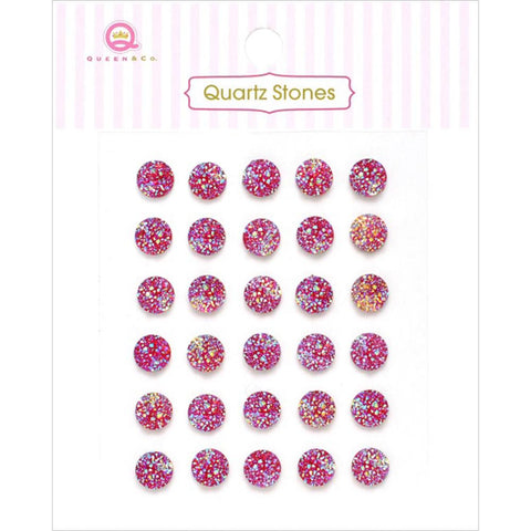Quartz Stones Embellishments ~ Assorted Colours
