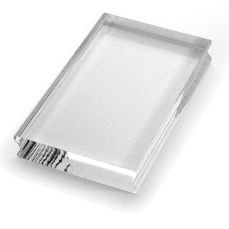 SSH38 Acrylic Handle - Small Rectangle