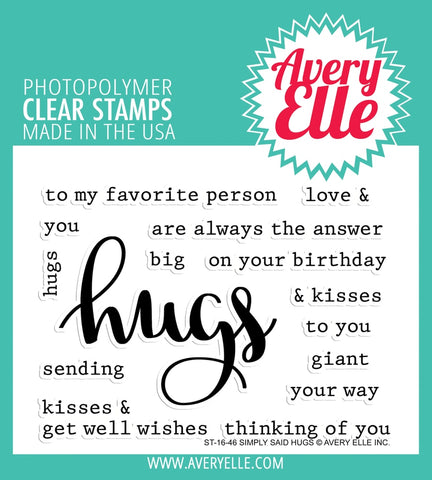AE1646 ~ Simply Said Hugs