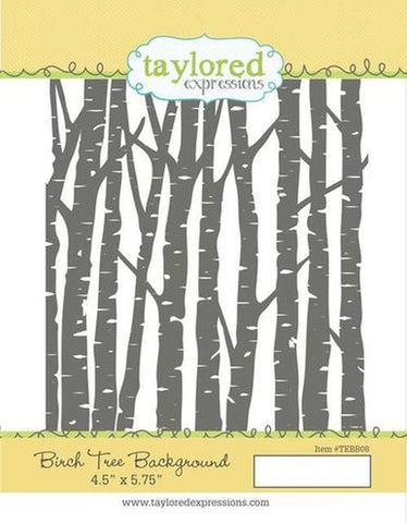 TEBB08 ~ Birch Tree Background