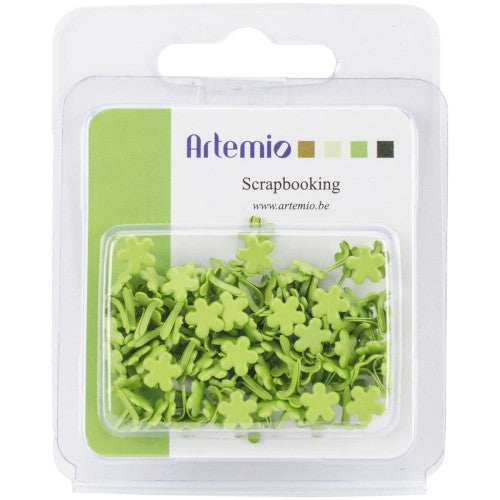 ART-214 Artemio Mini Flowers ~ Green