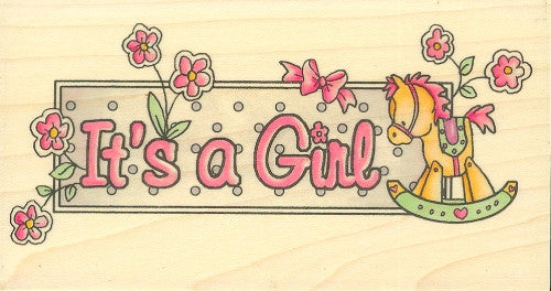 BBY894 It?s a Girl Banner