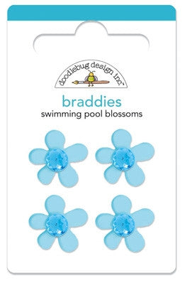 DB-2058 Braddies ~ Swimming Pool Blossoms