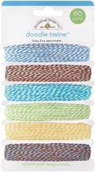 DB-3205 Doodle Twine ~ Baby Boy Assortment