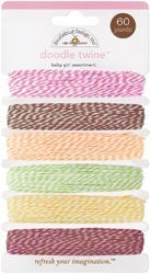 DB-3206 Doodle Twine ~ Baby Girl Assortment
