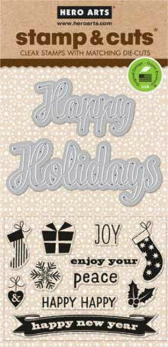 DC117 Stamps & Cut Holidays