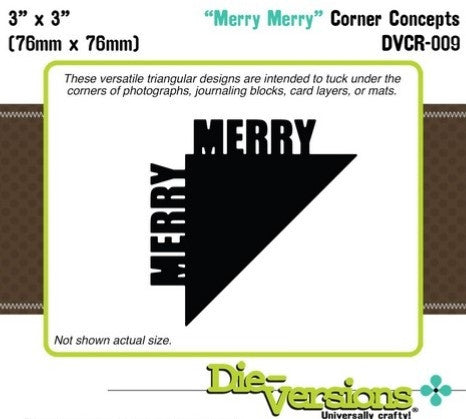 "DVCR-009 ~ ""Merry Merry"" Corner Concepts"