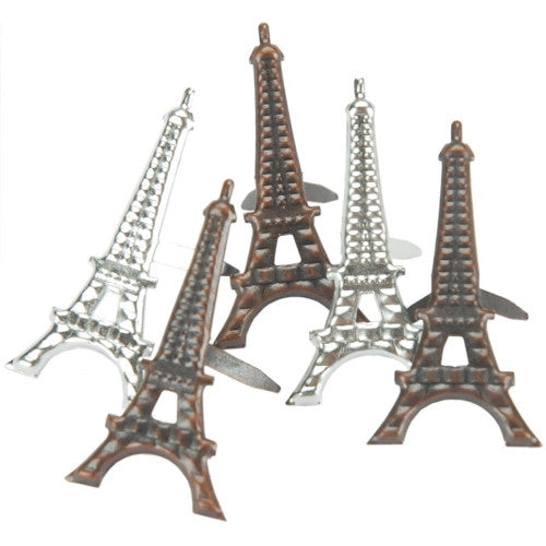 EOB-7470 Eyelet Outlet Brads ~ Eiffle Tower