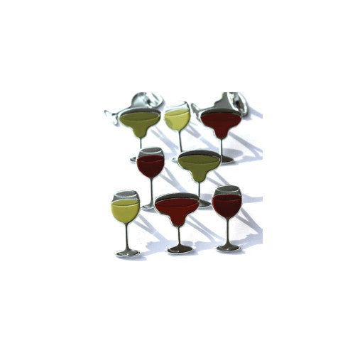 EOB-8897 Eyelet Outlet Brads ~ Cocktails / Wine Glass